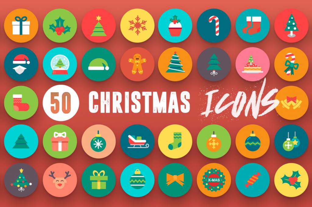 Christmas-flat-icons-1